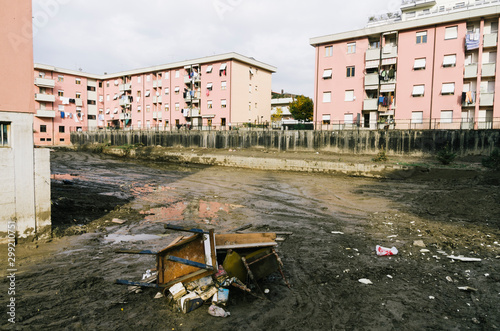 Платно Damages made by hevy flooding in liguria