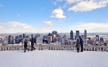 View Of Downtown Montreal, Can...