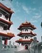 Leinwanddruck Bild - temple of heaven