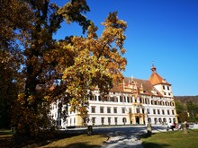 Graz Schloss Eggenberg Im Herbst