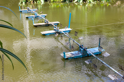 Valokuva surface aerators,use for make the waste water to clean water,Waste water treatme