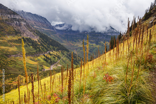 Foto op Canvas Wild West Autumn mountains