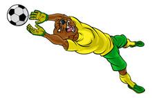 A Bear Soccer Football Player ...