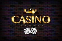 Vector Chic Casino Sign