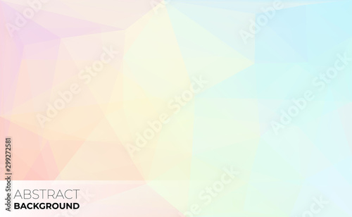 Fototapety, obrazy: Abstract modern triangle polygonal background, vector illustration.