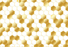 Abstract Golden Geometric Hexa...