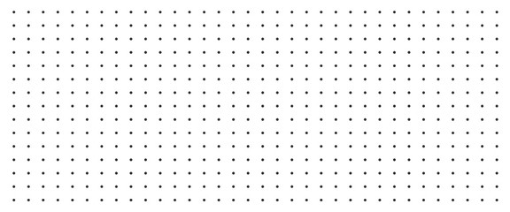Background with monochrome dotted texture. Polka dot pattern template