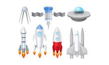 Spacecraft Vector Illustrated ...