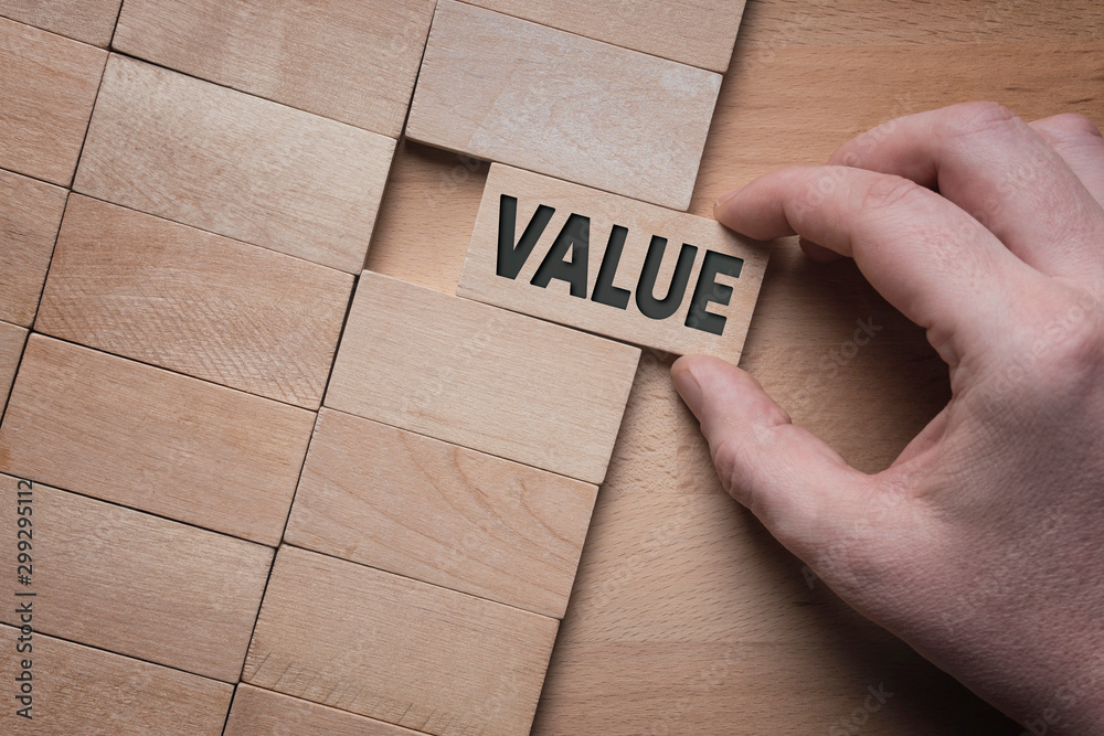 Fototapeta Add value to your business