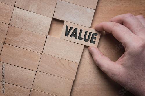 Fototapeta Add value to your business  obraz