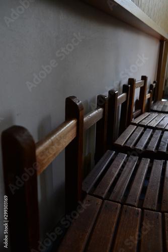 Papiers peints Escalier 学校の椅子