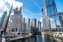 Views Of The Chicago City Skyl...