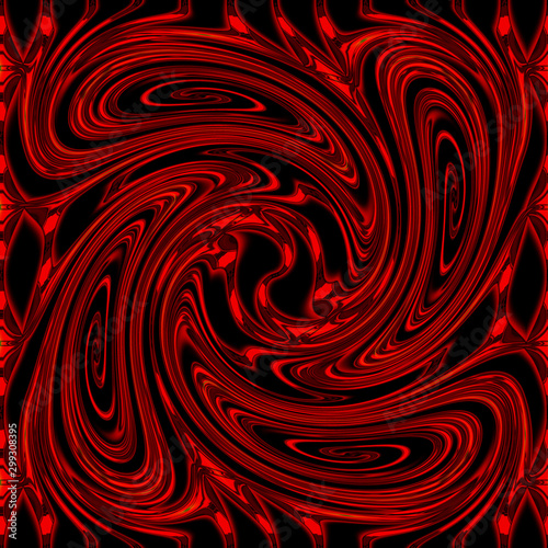 Poster Psychedelique abstract background