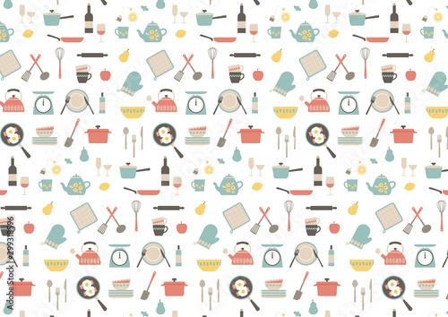 Платно キッチンツール パターン