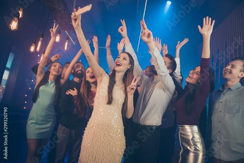 Good mood best meeting concert city life concept Slika na platnu
