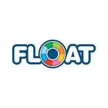 Ice Cream Float Logo