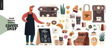 Coffee Shop -small Business Il...