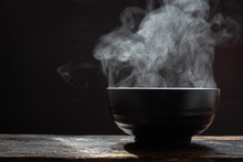 Hot Food Concept.Bowl Of Hot S...