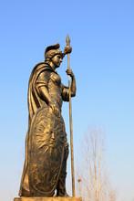 Sculpture Of Mars, Roman God Of War