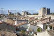 The medieval french town of Aigues Mortes in the Camargue