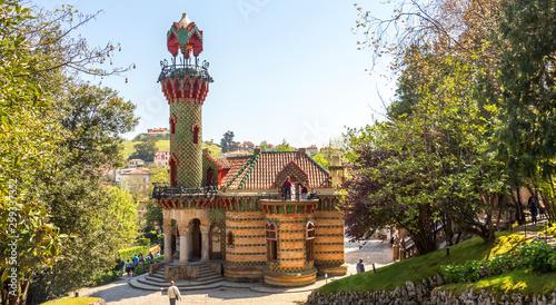 Villa Quijano, popularmente conocido como El Capricho, es un edificio modernista ubicado en la ciudad cántabra de Comillas, Cantabria, España