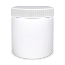 Medicine Pill Bottle. Plastic ...