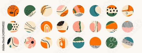 Fotografía  Big set of various vector highlight covers