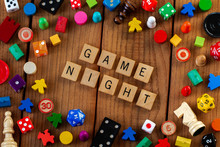 """Game Night"" Spelled Out In Wo..."