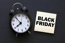 Black Friday Sale Concept. Black Friday Sale Text.