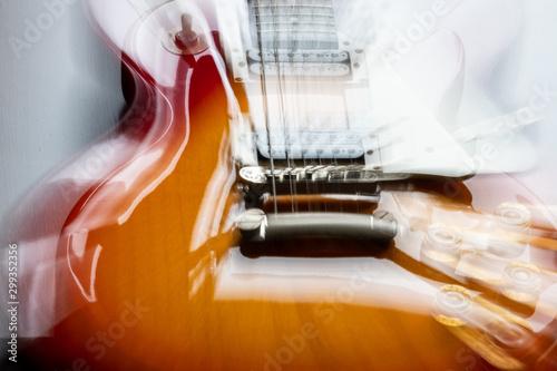 Fototapeta  Guitarra Modelo Vintage