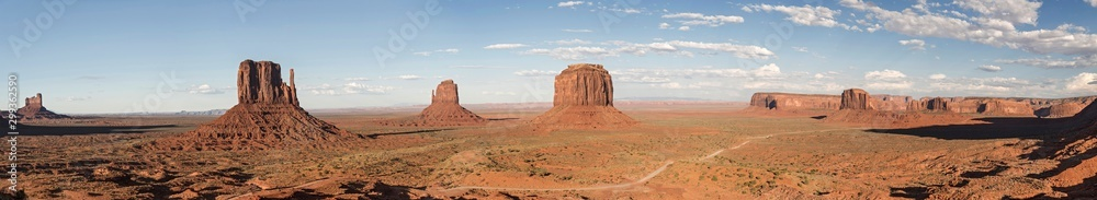 Fototapety, obrazy: Monument Valley Panoramic