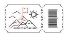 Coaching Business Logo