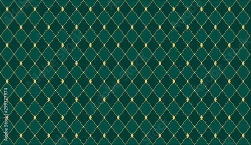 Leinwand Poster  Dark green color