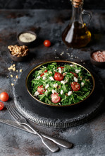 Healthy Vegetable Salad With F...