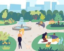 Landscape Illustration Square