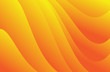 Orange Abstract background template, cover design, banner, business flyer, gradient texture, wave vector illustration, web wallpaper