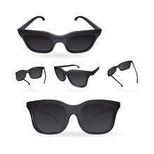 Sunglasses. Realistic Vector S...