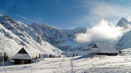 Fototapeta Zima w Zakopanem obraz