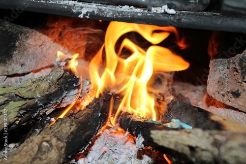 fogueira fogao lenha