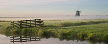 Landscape Panorama Of Countrys...