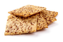 Crispy Crackers With Sesame An...