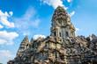 Leinwanddruck Bild - Ancient temple complex Angkor Wat, Siem Reap, Cambodia.
