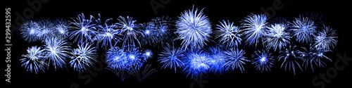 Poster Amsterdam Wunderschönes Feuerwerk