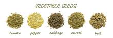 Vegetable Seeds Closeup: Tomat...