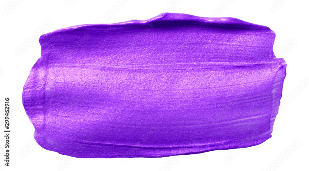 Fototapety, obrazy: Vector purple metallic texture isolated on white - paint banner for Your design