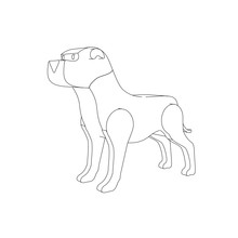 Coloring Page Illustration Of ...