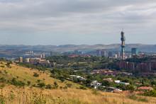 Pretoria, The Capital City Of South Africa's Skyline.