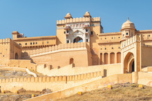 Amazing View Of The Amer Fort And Palace, Jaipur, India
