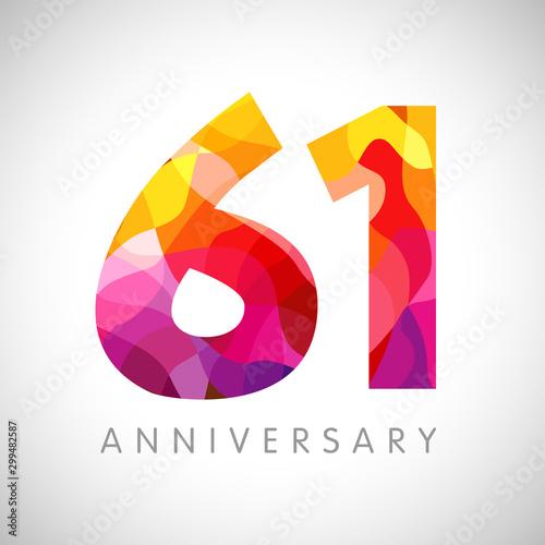 Tela  61 st anniversary numbers