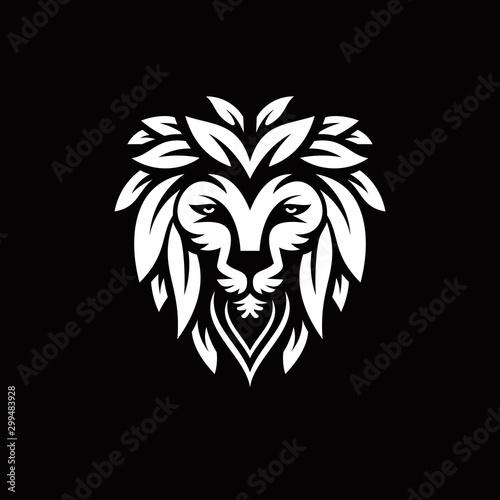 Fototapety, obrazy: lion logo vector design inspiration